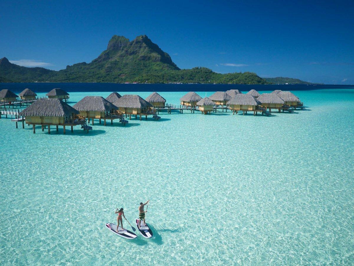 Курорты Французской Полинезии