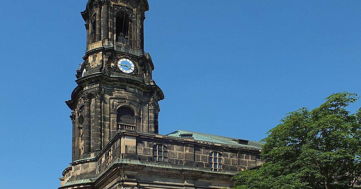 Достопримечательность Дрездена: церковь Кройцкирхе