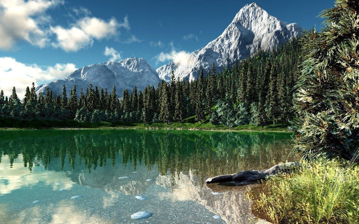Красота национального парка Роки-Маунтин