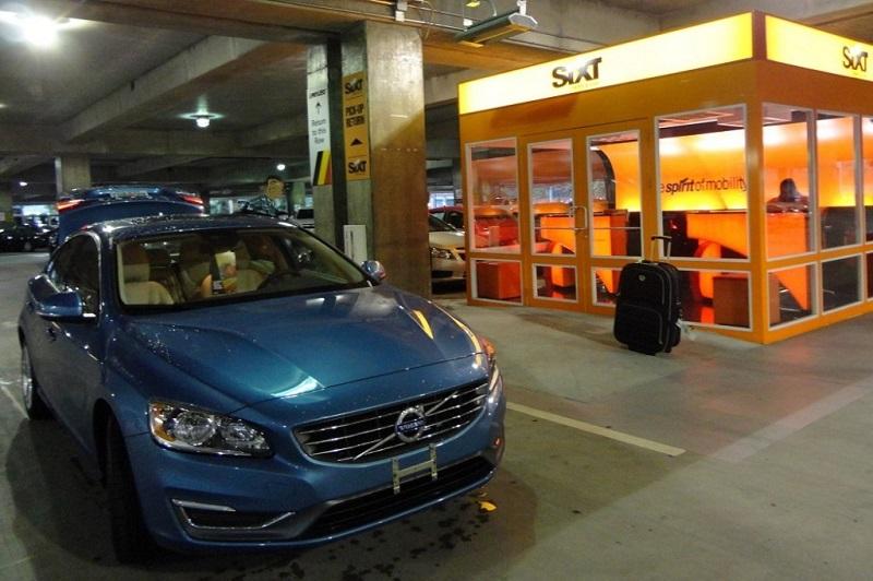 машины Sixt в аэропорту Шанлыурфа (Турция)