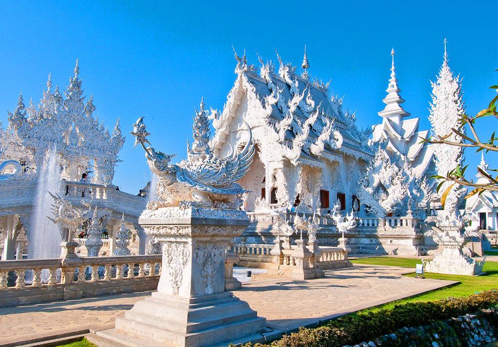 Красоты таиландского Белого храма