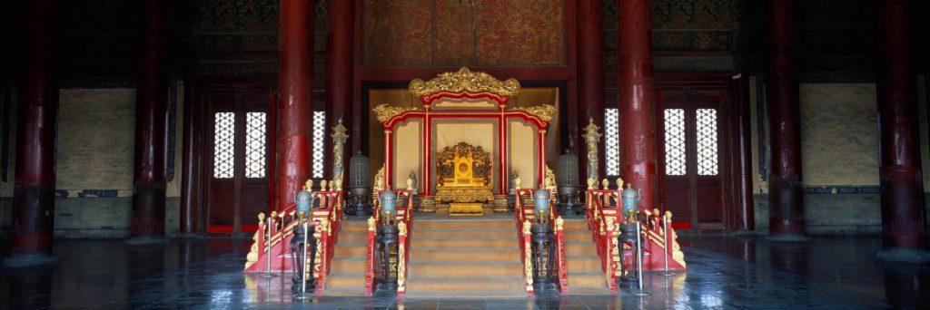 Кен джонг кон - императорский тронный зал