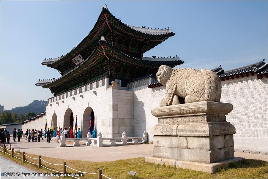 Королевский дворец в Сеуле