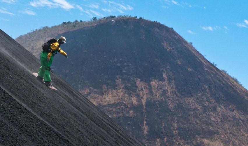 Вулканический серфинг