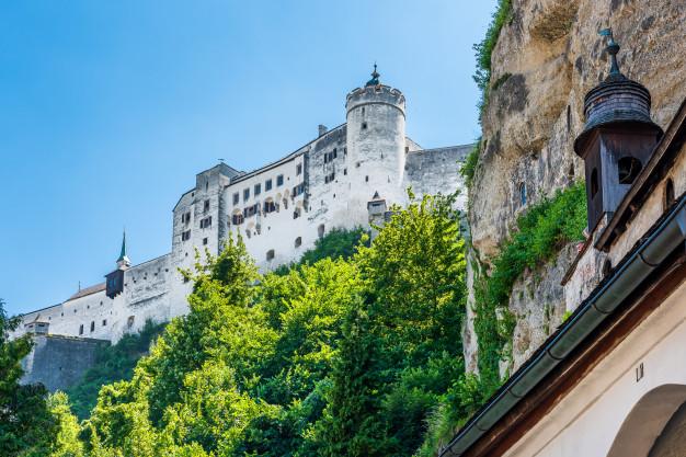 Крепость Хоэнзальцбург